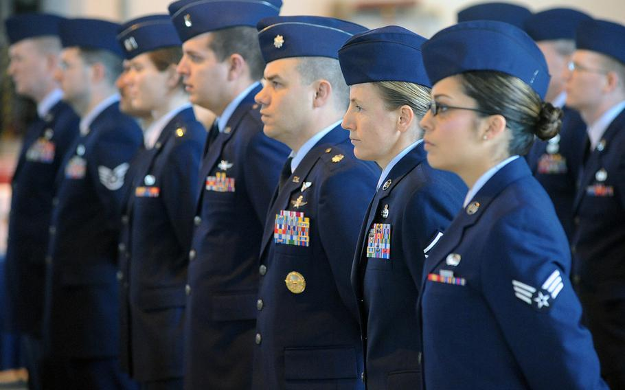 Air Force dress blues may shed their corporate look for a service uniform that reflects the service's heritage as Air Force leaders eye uniform changes.