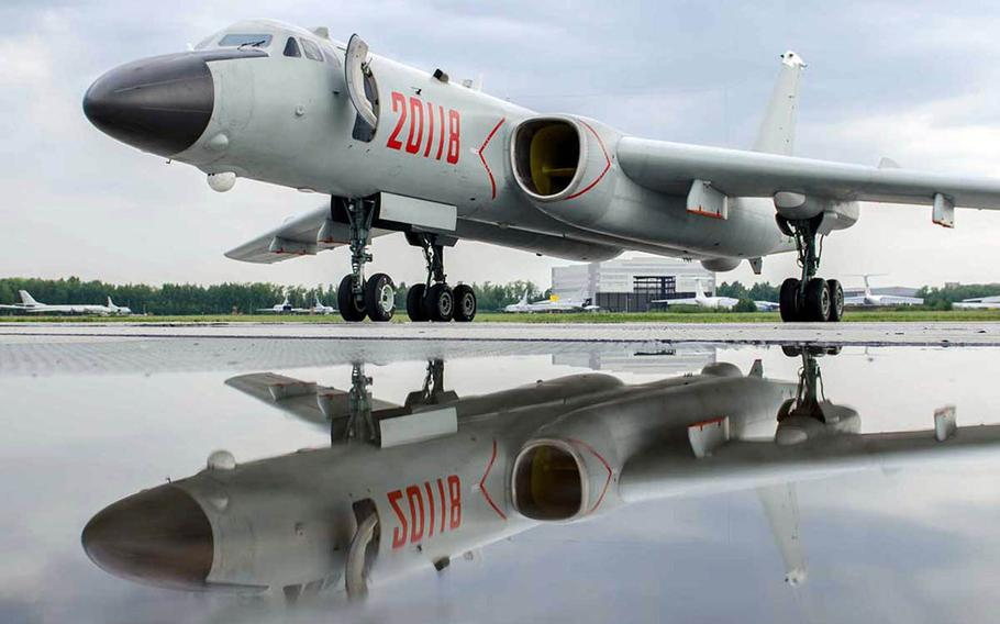 Beijing began to field longer-range H-6K bombers in 2013, incorporating cruise-missile pylons to turn them into stand-off strike platforms.