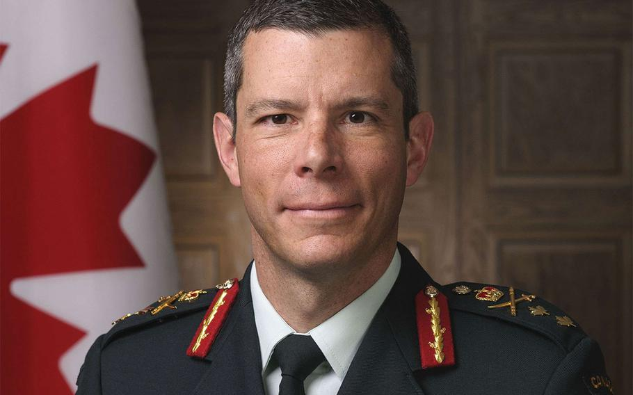 Maj. Gen. Dany Fortin, who now leads the 1st Canadian Division Headquarters in Kingston, Ontario, will assume command of NATO's new training mission in Iraq.