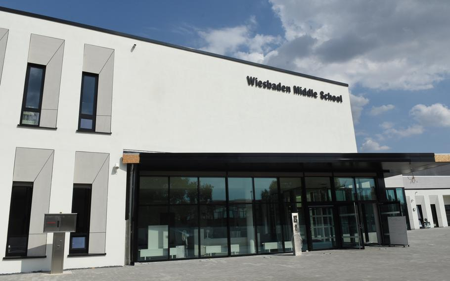 Wiesbaden Middle School is one of two new ''21st-century'' Department of Defense Education Activity schools to be opening this school year in Germany. The schools feature more open and flexible classroom space and utilize technology more than traditional schools do.