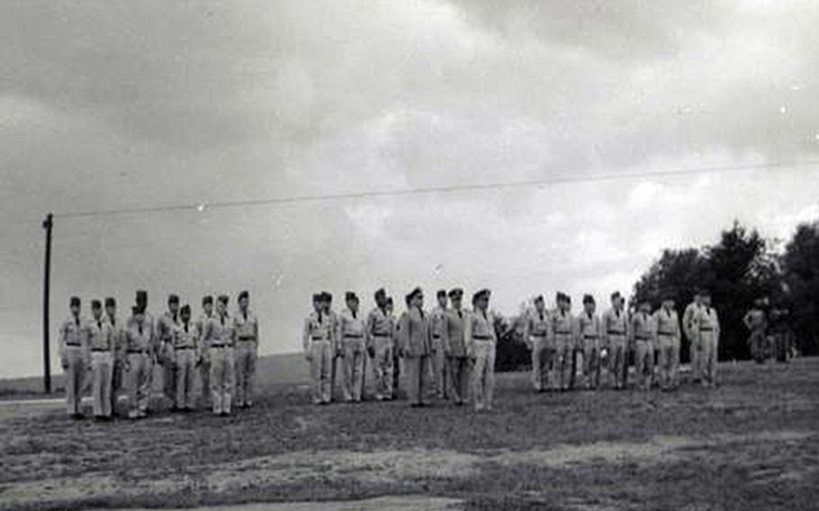 In the aftermath of the deadliest accident in the history of the Grafenwoehr training area, soldiers of the 3rd Armored Division assembled with gaps in the ranks where their dead comrades would have stood.
