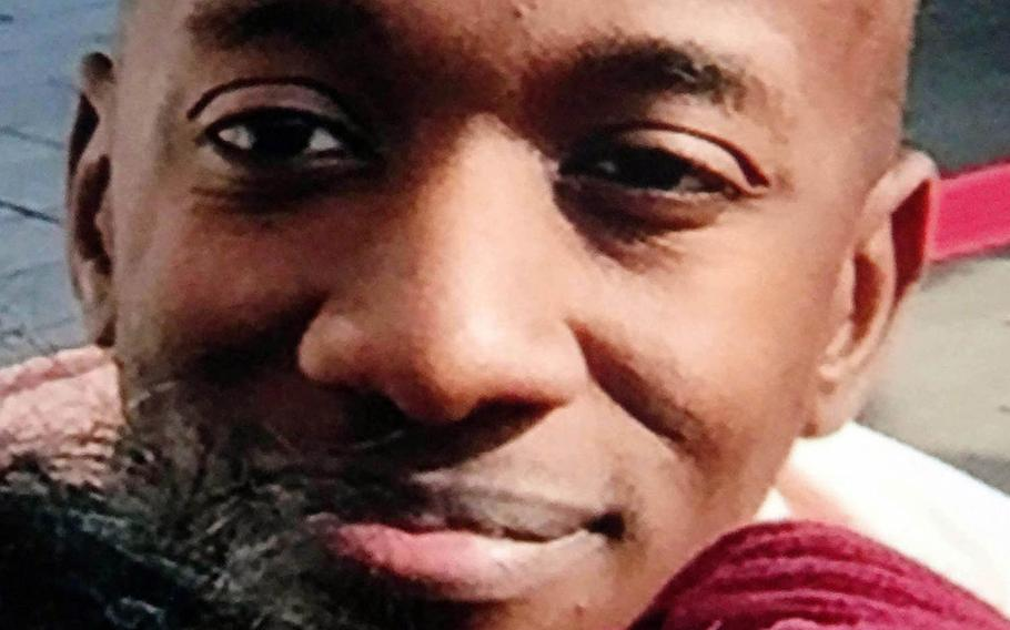 Kenneth Franklin Gadson was given life in prison for the slaying of 20-year-old Okinawan office worker Rina Shimabukuro, Dec. 1, 2017.