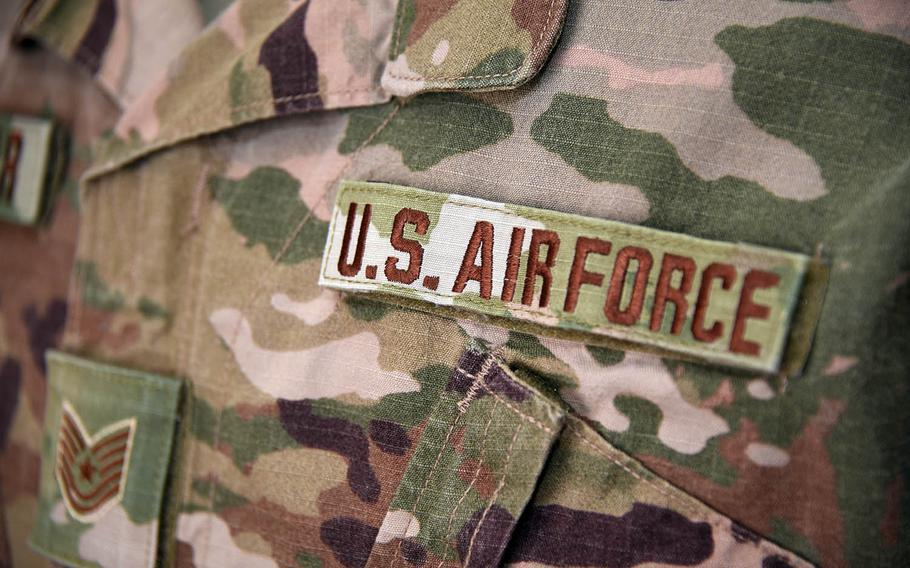 The Operational Camouflage Pattern uniform has been issued to airmen deploying overseas since 2012, the Air Force said.