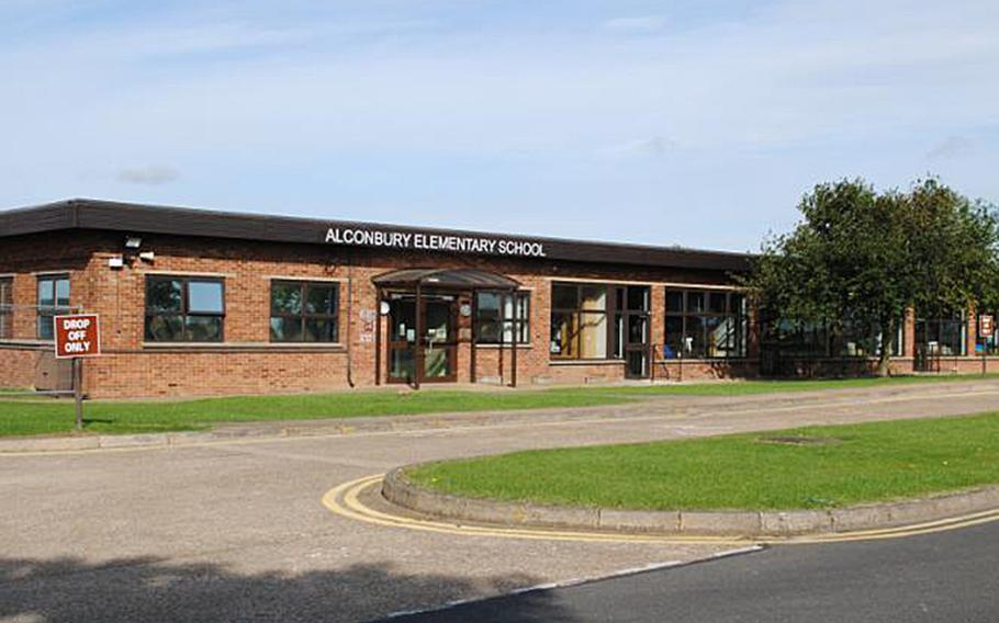 Alconbury Elementary School at RAF Alconbury in England, along with Patch Elementary School at U.S. Army Garrison Stuttgart in Germany and E.A. White Elementary School at Fort Benning, Ga., have been named 2018 National Blue Ribbon Schools.  DOD