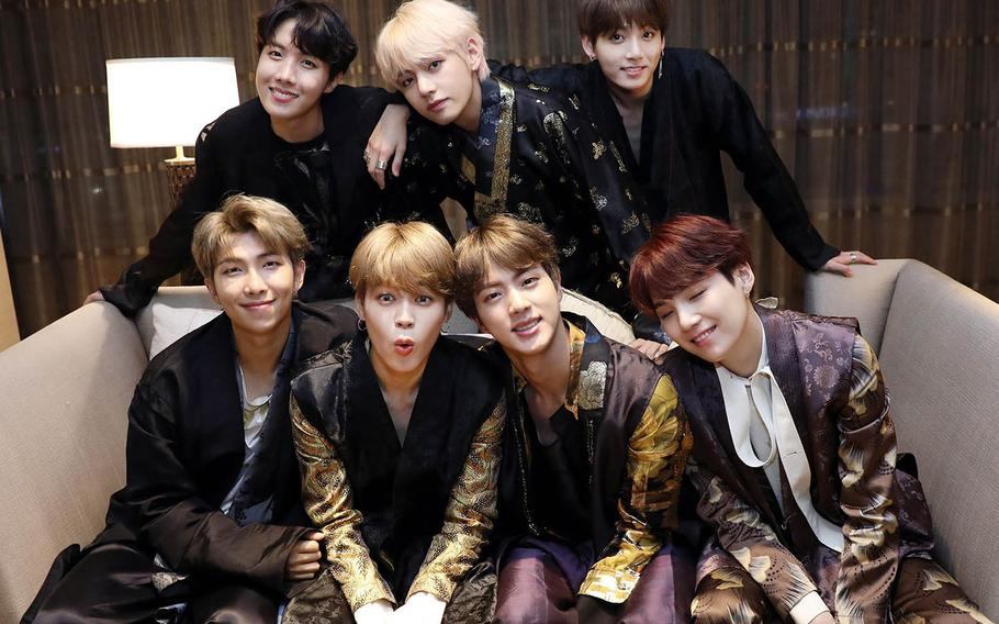 Like all South Korean men, members of the chart-topping septet BTS are subject to compulsory military service.