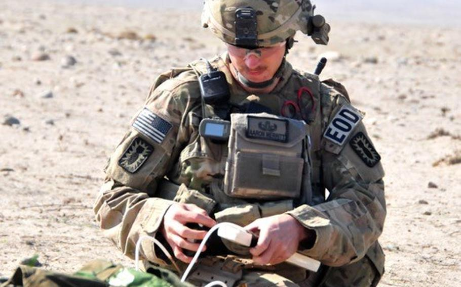 U.S. Army Staff Sgt. Aaron Merritt did one tour in Iraq, and two in Afghanistan. He later died in 2014 while being treated for Colitis at a VA hospital. The VA recently agreed to a 2.5 million settlement with his parents in connection with his death.