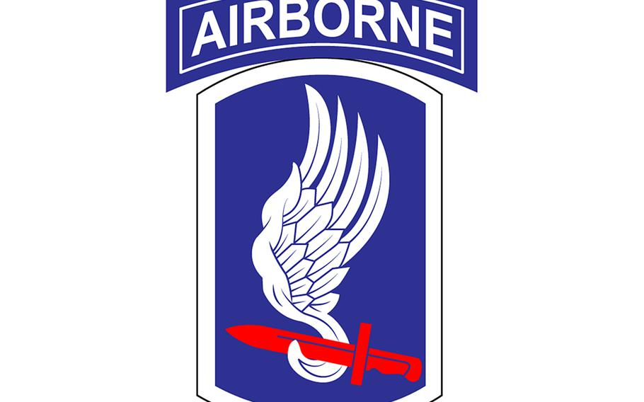 A paratrooper of the 173rd Airborne Brigade who was infected with bacterial meningitis is recovering in the U.S., Army officials said this week.