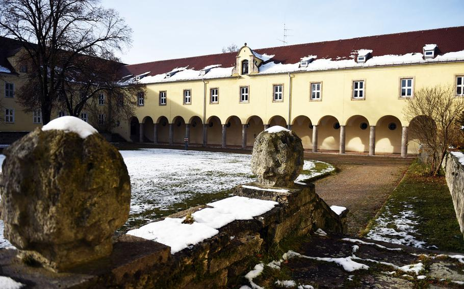 The barracks at the former U.S. Air Force base in Landsberg, Germany where Johnny Cash lived from 1951 to 1954, while serving as a Morse code listening specialist.