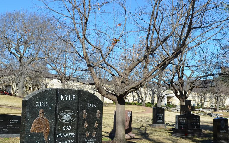 The gravesite of Navy SEAL Chris Kyle at the Texas State Cemetery in Austin is the most visited in the cemetery.