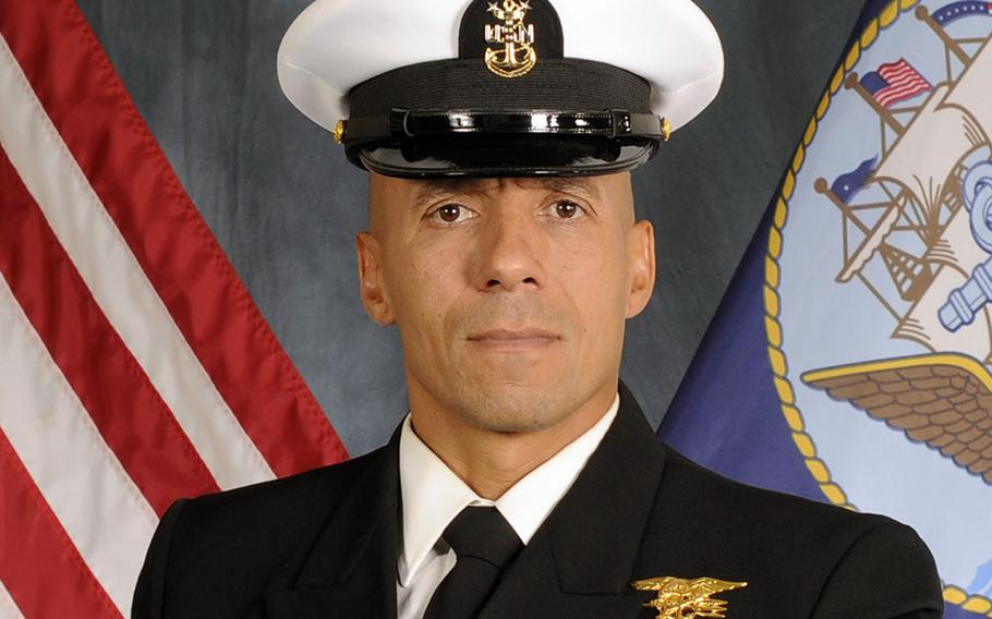 Master Chief Petty Officer Derrick Walters, a Navy SEAL, will become the 6th Fleet's fleet master chief this spring. He will replace retiring Master Chief Petty Officer Raymond Kemp, who has been fleet master chief since August 2016.