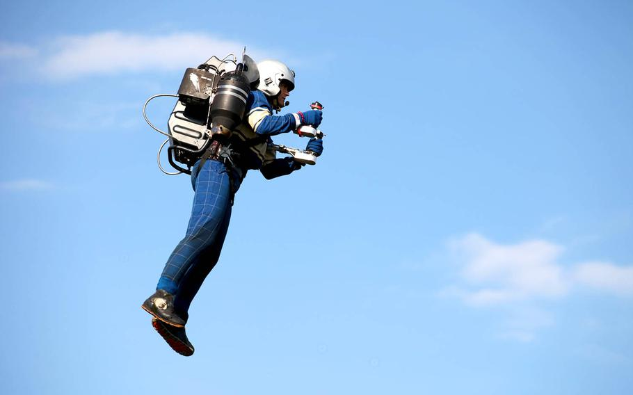 JetPack Aviation's new generation of individual lift devices can remain airborne for more than 10 minutes at speeds of over 200 mph.