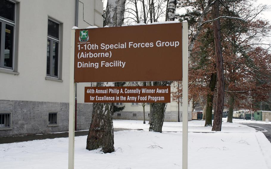 Anonymous members of the Stuttgart military community made donations so that free meals can be provided at the local DFAC for Coast Guard and other personnel not getting paid during the shutdown.
