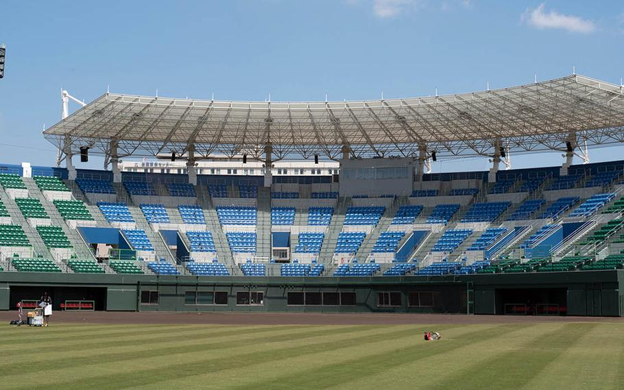 The Team USA softball team will use Atago Sports Complex, a facility shared by Iwakuni City and Marine Corps Air Station Iwakuni, to practice for the 2020 Olympics in Tokyo.