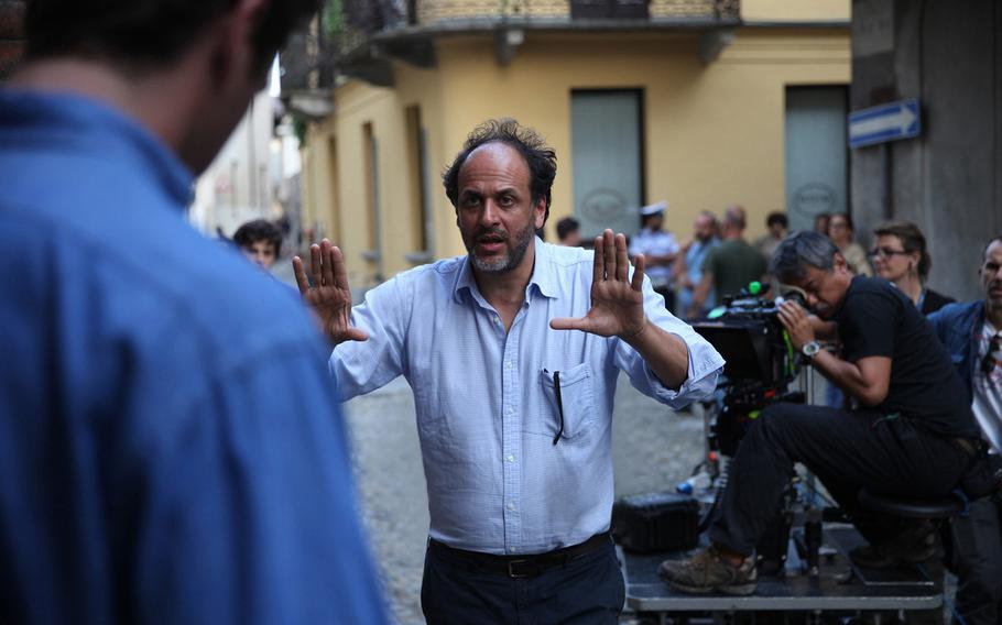 Luca Guadagnino, director of the Oscar-winning fillm ''Call Me By Your Name,'' is working on a series with HBO involving teens growing up on a U.S. military base in Italy. The Defense Department pulled their support for the project due to concerns about content.