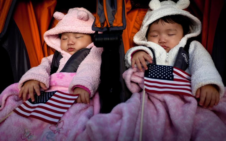 Marine Commandant Gen. David Berger said in planning guidance in July that he planned to ''do everything possible to provide parents with opportunities to remain with their newborns for extended periods of time,'' including considering up to a yearlong leave of absence for new mothers before returning to full duty.
