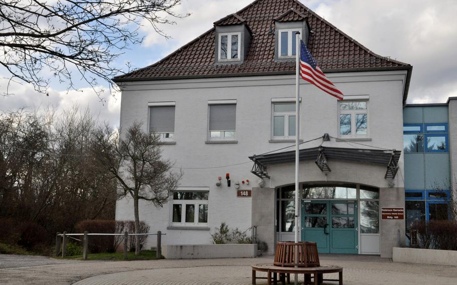 In Germany, $46.6 million is at stake to replace Robinson Barracks Elementary School. The school opened in 1953 in a building that previously held a military hospital for U.S. forces after World War II.   U.S. Army Garrison Stuttgart