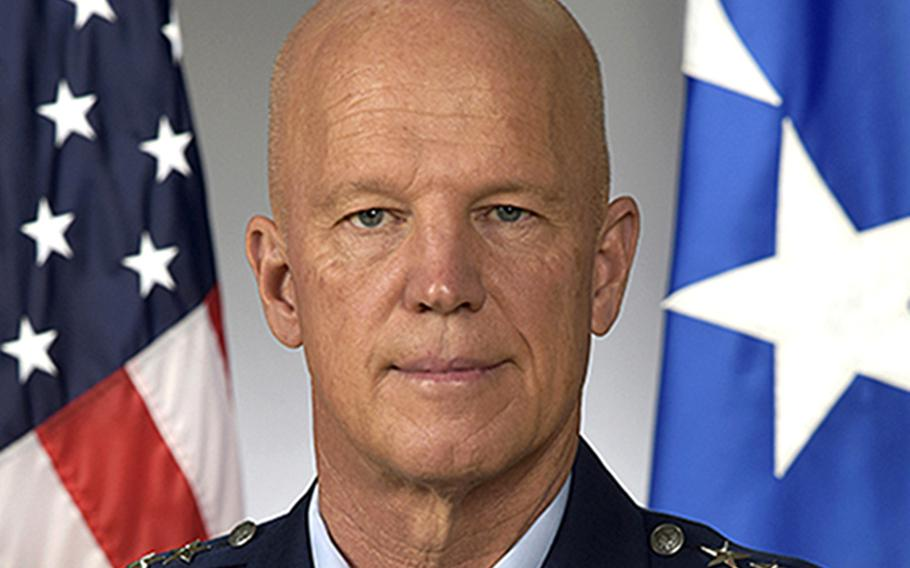 Gen. John Raymond is the head of U.S. Space Command and Air Force Space Command.