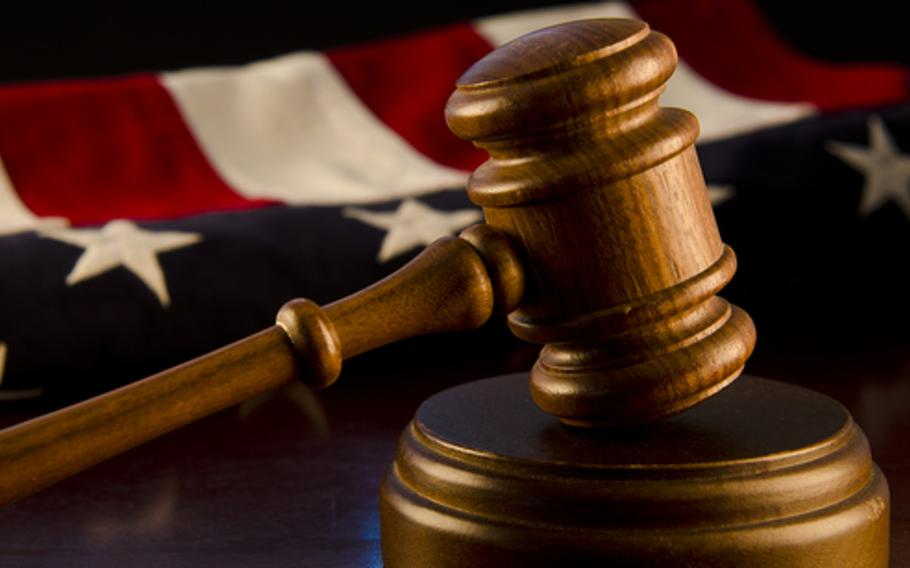 Maj. Jason A. Scott is asking the military's highest court to overturn his sentence and reinstate his pension and other retirement benefits.