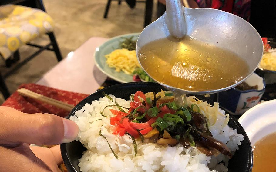 """Keihan, a popular dish in Japan's Amami archipelago, means """"chicken rice."""""""