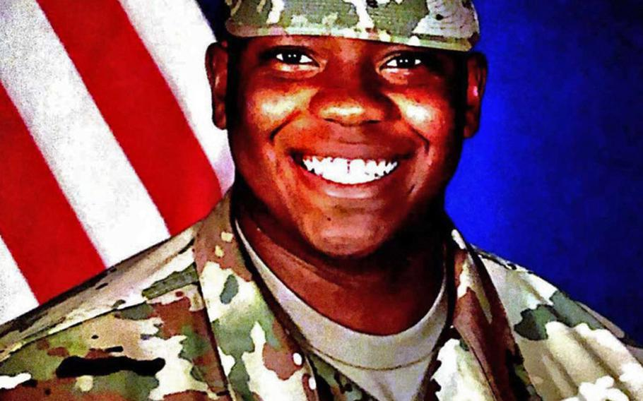 Spc. Antonio Moore, 22, of Wilmington, N.C., died Jan. 24, 2020, in Syria during a vehicle rollover accident while conducting route clearance operations as part of Operation Inherent Resolve.