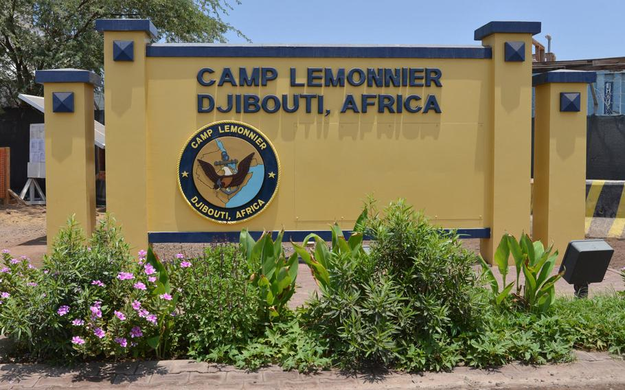 Military officials were preparing Tuesday, April 28, 2020, to lock down Camp Lemonnier, Djibouti, home to Combined Joint Task Force Horn of Africa, after a second contractor was diagnosed with the coronavirus. Camp Lemonnier is the largest U.S. base on the continent.