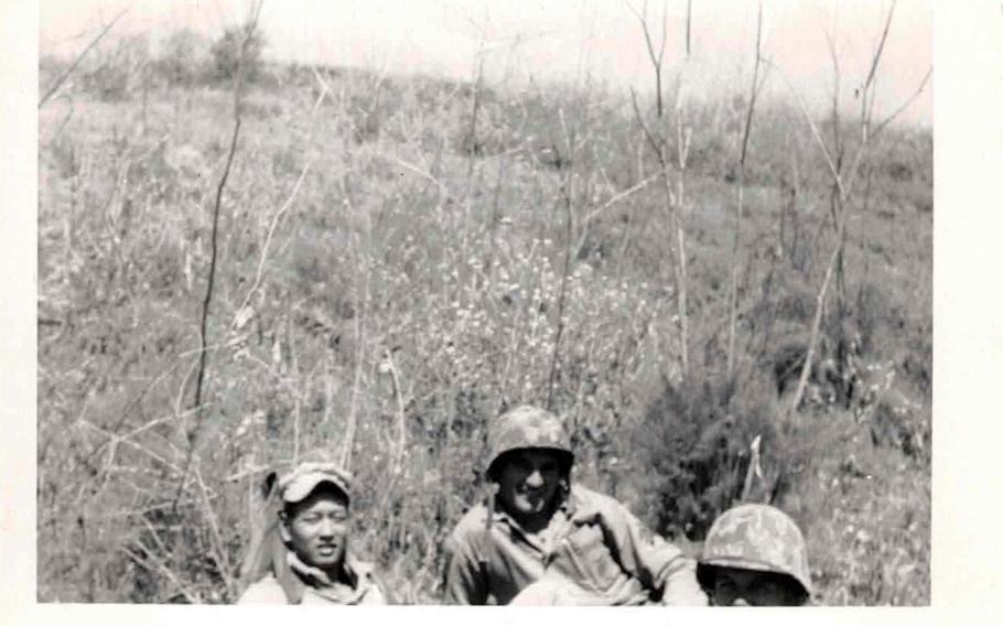 Patrol in Korea.