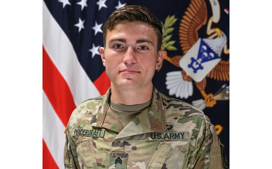 Sgt. Cade D. Pendergraft, 24, an infantryman with 2nd Battalion, 503rd Infantry Regiment, 173rd Airborne Brigade, died of his injuries, Sept. 19, 2020, after falling down a steep ravine while hiking the 52 Tunnels World War I site on Monte Pasubio.