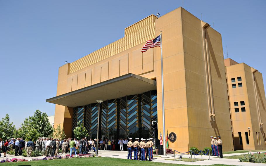 The U.S. Embassy in Kabul, Afghanistan, paid $8.4 million for meals it didn't need at the compound and other consular facilities over several years, an audit released Tuesday, Sept. 29, 2020, by the State Department?s Office of Inspector General has found.