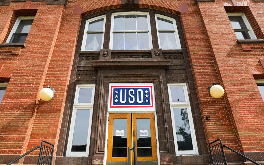 The USO Great Lakes Center on June 17, 2021.