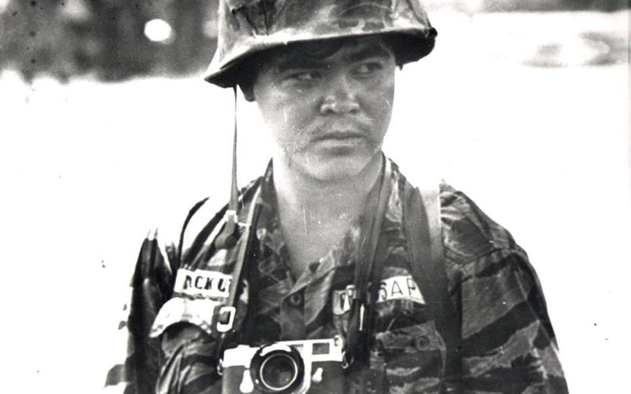 This undated photo shows Associated Press photojournalist Nick Ut in South Vietnam.