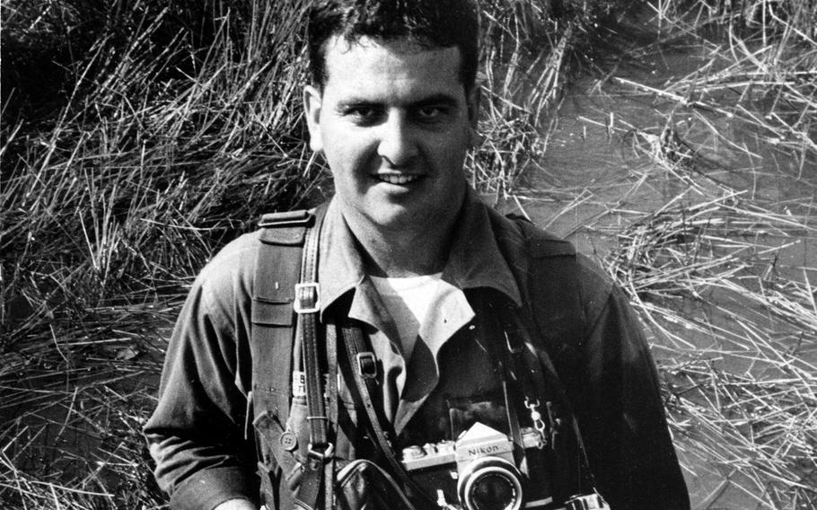 Steve Stibbens, a Stars and Stripes photographer during the Vietnam War.