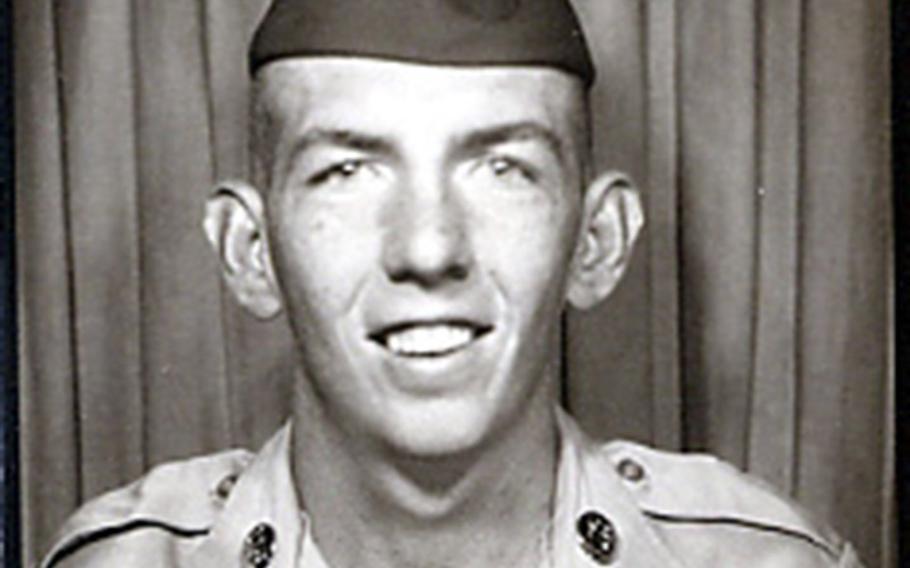 Tony Chliek at basic training at Fort Jackson, S.C., in 1968.