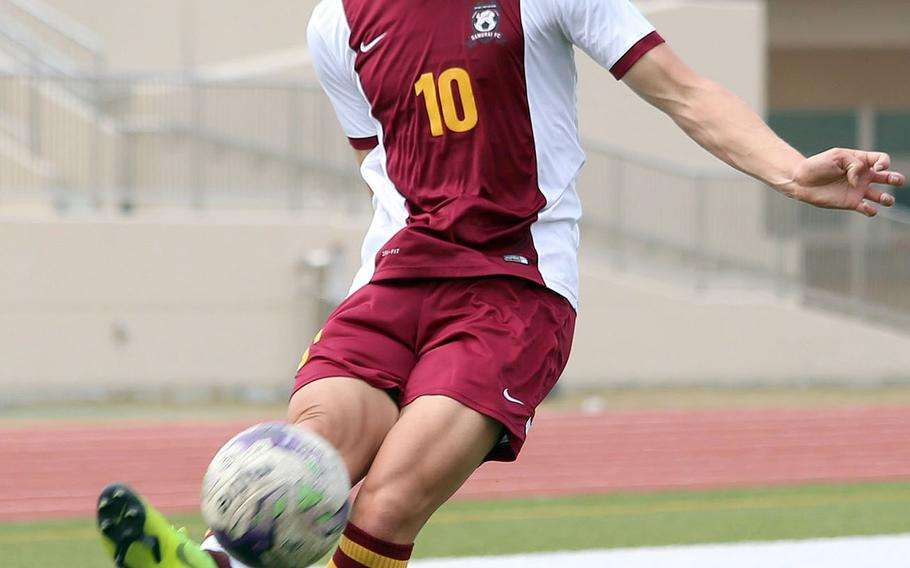 Matthew C. Perry senior Kai Lange, who last year set the Pacific record for a single season with 85 goals, enters Far East once again leading the region with 30 goals.
