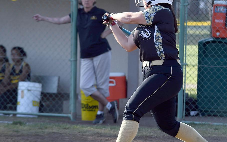 Humphreys pitcher Isabelle Maulsby was named the Far East Division I softball tournament MVP.