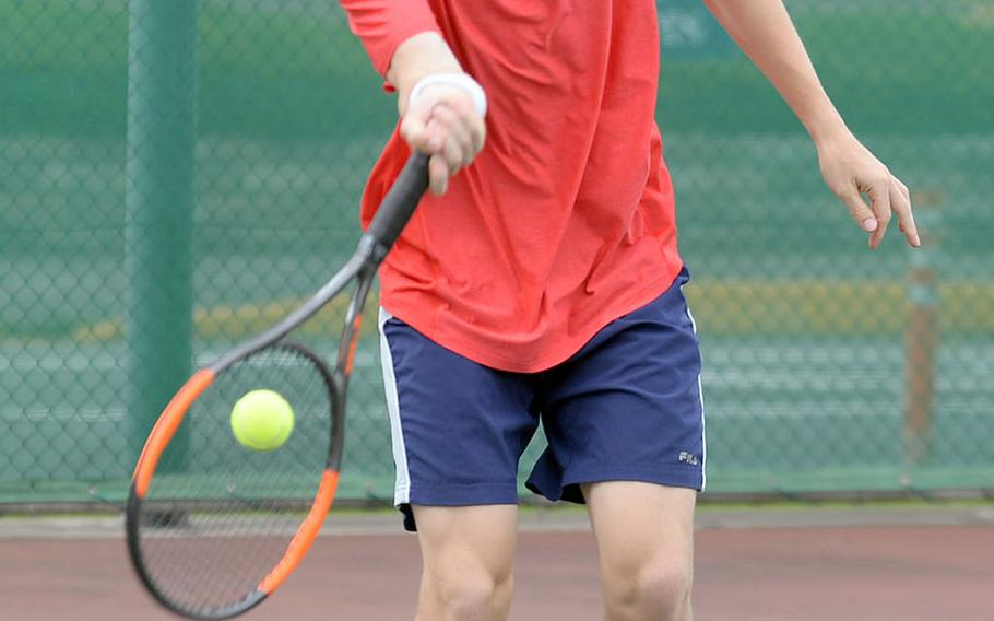 Nile C. Kinnick senior Daniel Posthumus was a Far East singles quarterfinalist a season ago.