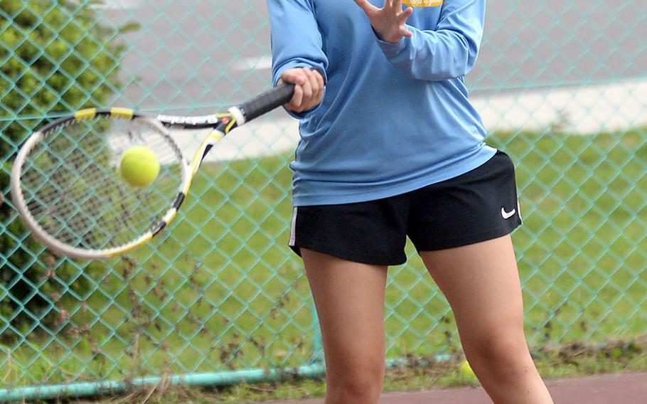Yokota junior Emina Garcia.