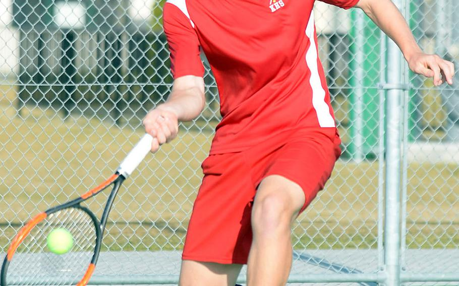 Nile C. Kinnick senior Daniel Posthumus is trying to become the first Red Devil to win the Far East tennis boys singles since Garren Dial in 2008.