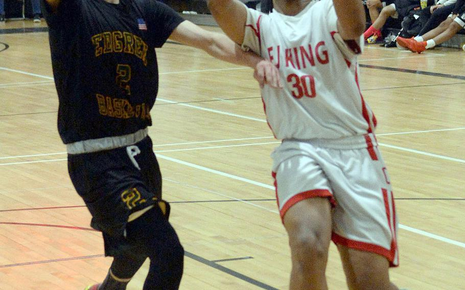 Jalen Nall is one of three core returners for defending Far East Division II champion E.J. King.