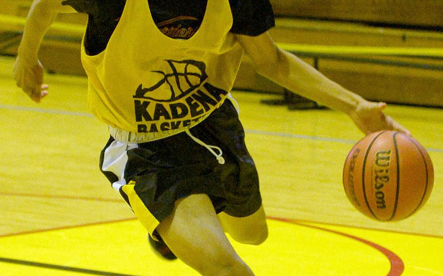 Senior Tristan Higginson transferred from Kubasaki to Kadena.