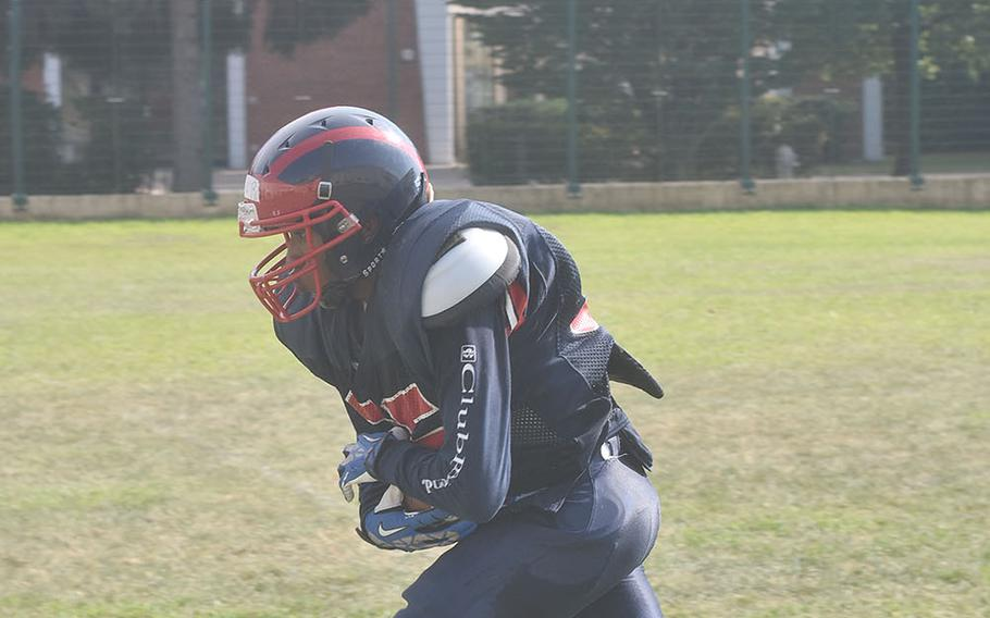 Aviano's Donavin Robinson could have the ball in his hands a lot on offense this season.