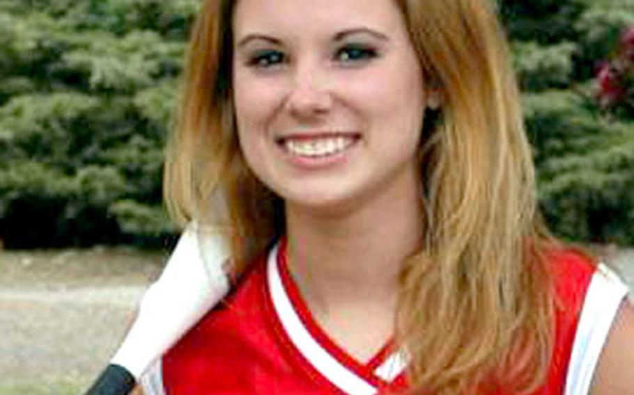 Lakenheath's Meghan Quasney, a 2002 All-Europe third baseman, will share the pitching duties with Natasha Valley in the tournament.