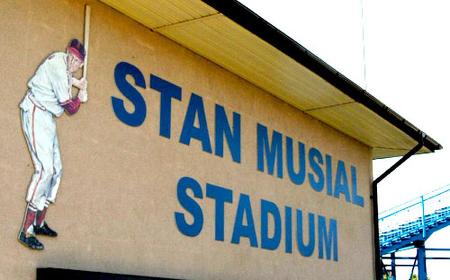 Stan Musial Stadium — honoring the St. Louis Cardinals great who is of Polish ancestry — is the site of Junior and Senior league and Polish Baseball League games in Kutno.