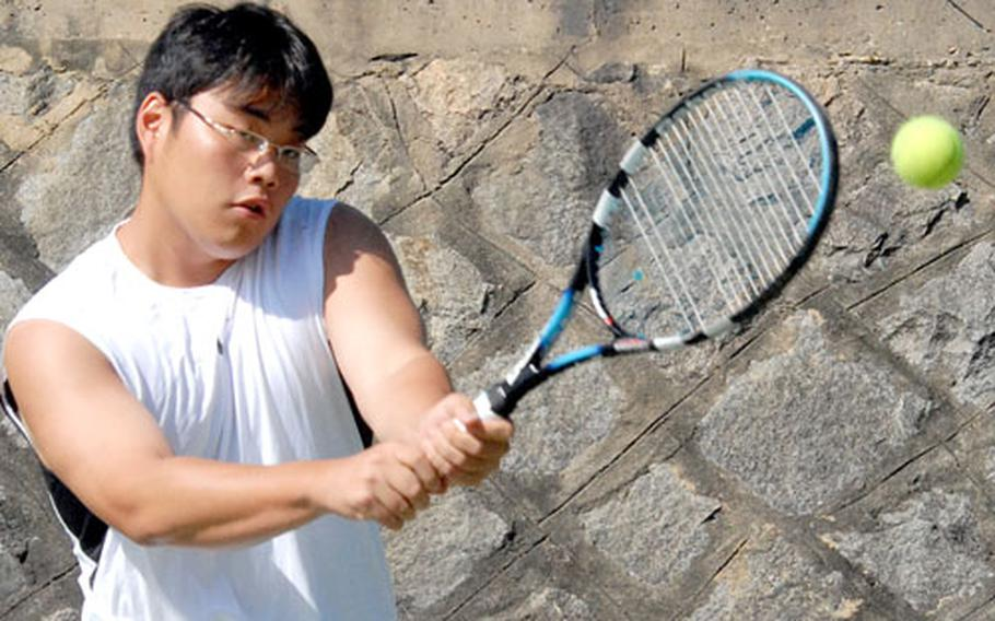 Junior Song-ho Downes is one of four returnees who bolster the roster of a Seoul American team that will defend its Far East tournament title in November on Guam.