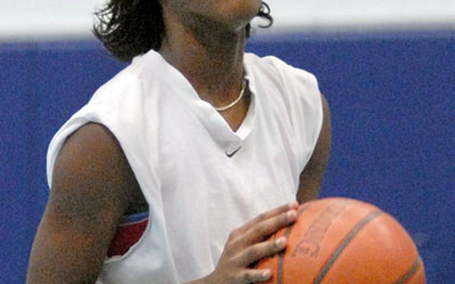 Kendra Lenoir, who averaged 9.3 points, eight rebounds and four steals per game as a junior, is hoping to lead Ramstein to a D-I title.