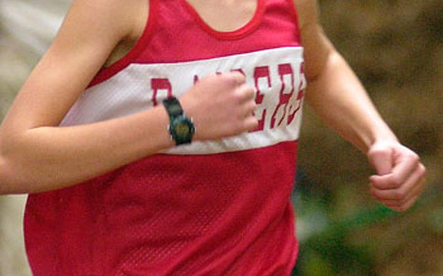 Kaiserslautern's Colleen Smith was the top individual winner for DODDS-Europe in 2006, earning three gold medals in the European track and field championships in May and another in cross country in October.