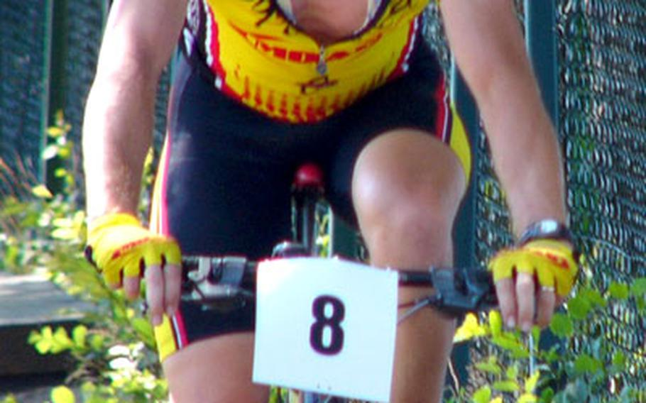 Cyclist James Sharp of Hanau won every mountain bike and road race he entered in 2006.