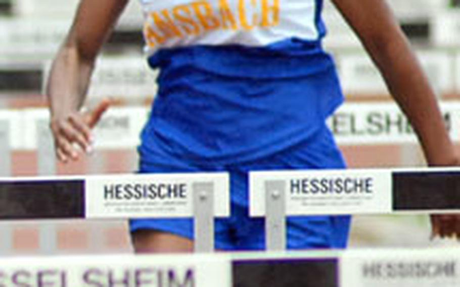 Tiffany Heard finished third in both the 100- and 300-meter hurdles at the 2007 European track and field competitions. This year she is again competing in the hurdles and, for the first time, in the long jump.