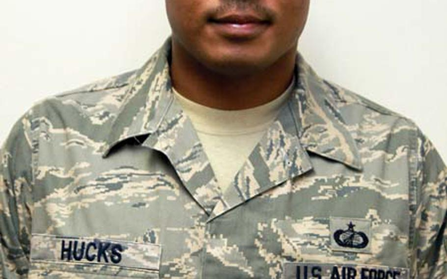 Tech Sgt. Clarence Hucks Jr., made the International Military Sports Council team and represented the U.S. military in Rio de Janeiro in June.