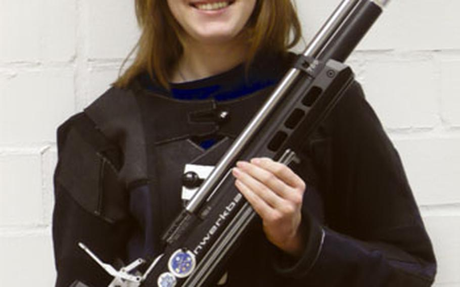 Patch's Christina Lowry, who fired a DODDS-Europe season-high 288 out of 300 last week, will lead the Panthers to the European marksmanship championships Saturday at Hohenfels High School.
