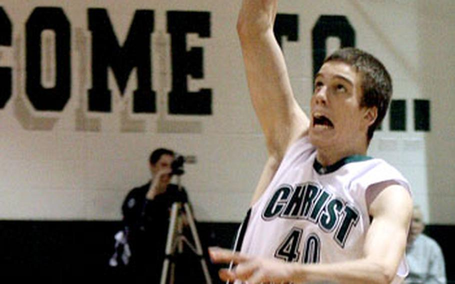 Marshall Plumlee of Christ School in Arden, N.C., is one of the buggest names — and players — on the U.S. basketball team that will be competing in the international Albert Schweitzer Tournament in Mannheim, Germany, in April.
